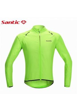 Cortavientos impermeable Santic Green