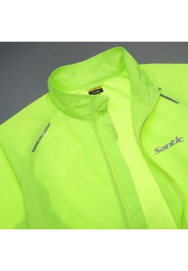 Cortavientos impermeable Santic Green
